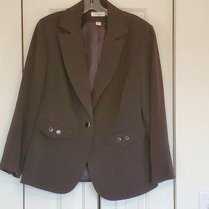 Dressbarn black blazer size 16W